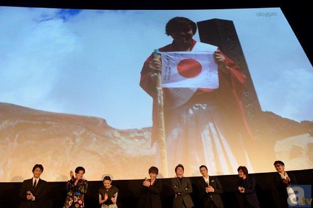 映画『るろうに剣心 京都大火編』初日舞台挨拶より、公式レポが到着