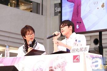 【AGF2014】田丸篤志さんと中澤まさともさんが「うさ夫」に変身!? 「ボクとセカイのWEBラジオ AGF2014特別出張版」速報レポ-1