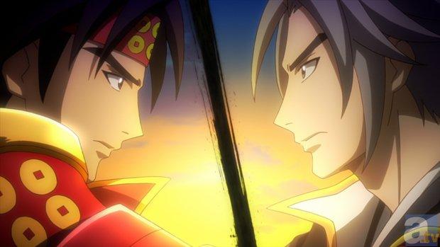 『戦国無双』 第12話「日本一の兵」より場面カット到着