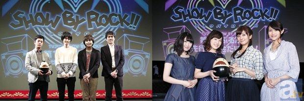 『SHOW BY ROCK!!』第一話先行上映会より公式レポ公開