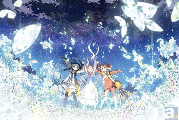 『ガラスの花と壊す世界』キービジュ第2弾・キャラ設定画が到着