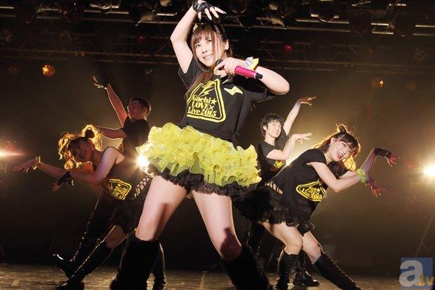 5月3日に行われた榊原ゆいさんのライブのオフィシャルレポート到着