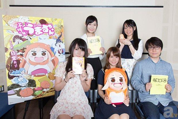『うまるちゃん』田中あいみさんら出演者5名のコメント到着
