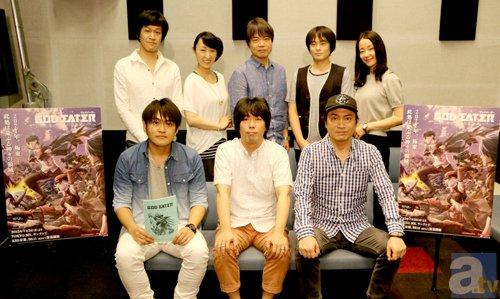 新番組『ゴッドイーター』木島隆一さんら8名のキャストコメント到着