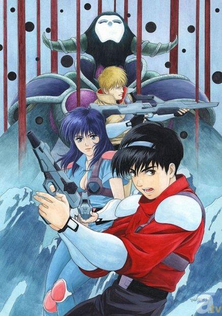 名作SFアニメ『赤い光弾ジリオン』BD-BOX発売決定