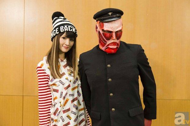 TVアニメ『進撃!巨人中学校』梶裕貴さん、石川由依さんらが体操着で宝探し!?