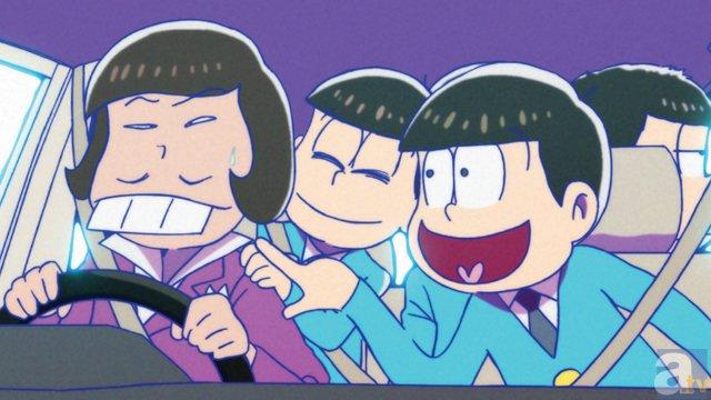 TVアニメ『おそ松さん』第2話より場面カット到着