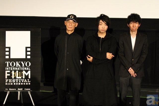 東京国際映画祭「ガンダムとその世界」富野監督トークレポ