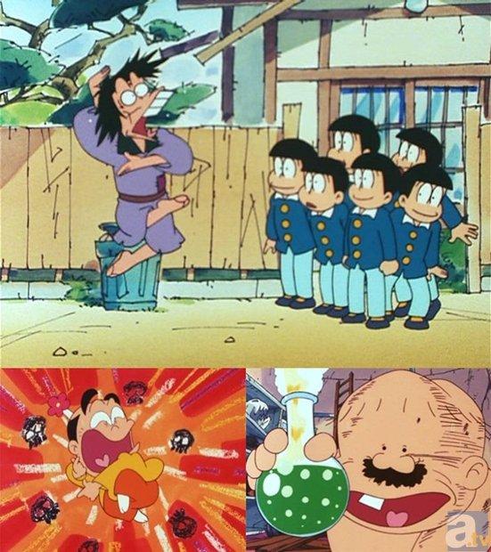 懐かしのTVアニメ『おそ松くん』本日チバテレで放送開始に