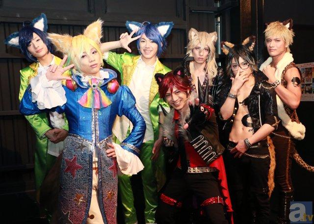 クロウ、シュウ☆ゾーたちサンリオの人気キャラが舞台に降臨!