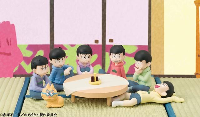 """『おそ松さん』""""てのひらサイズ""""フィギュアセット登場!"""