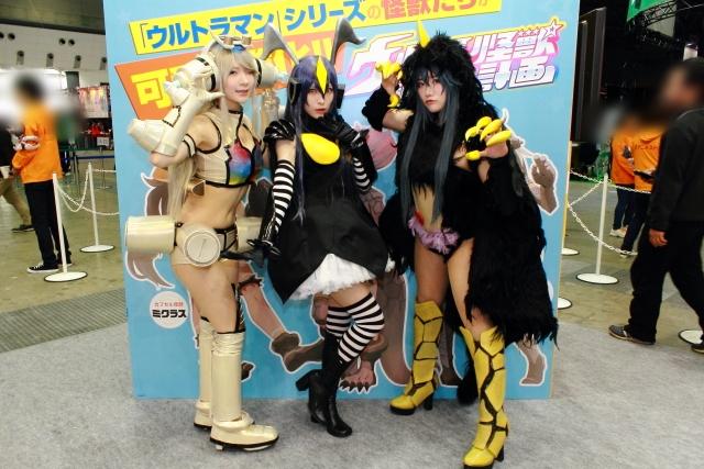 美女!怪獣!コスプレ!AJ2016dアニメストアブースレポ