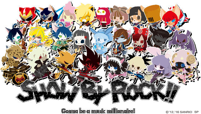 SHOW BY ROCK!!-14