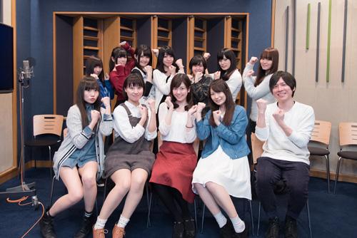 TVアニメ『三者三葉』声優12名より放送直前コメントが到着