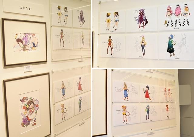 渡辺明夫 アニメアートワークス展を虹コンメンバーとレポート!