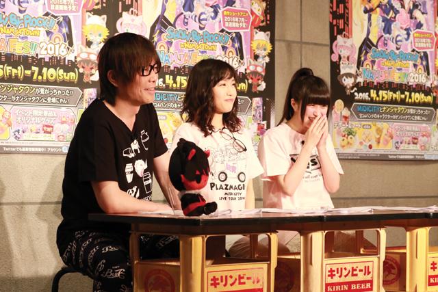 「SB69@ニコニャマ」で稲川英里さん&村川梨衣さんが食レポ対決