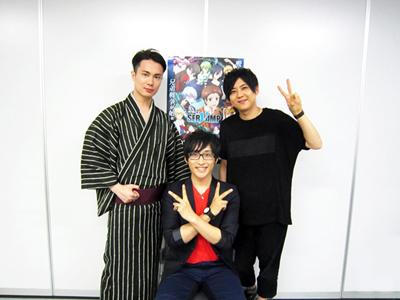 TVアニメ『サーヴァンプ』先行上映会で男性声優陣がひと肌脱ぐ!?