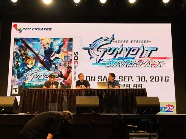 ニンテンドー3DS「蒼き雷霆 ガンヴォルト」がアニメ化決定