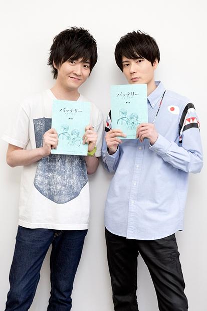 アニメ『バッテリー』声優・内山昂輝さん&畠中祐さん公式コメ到着