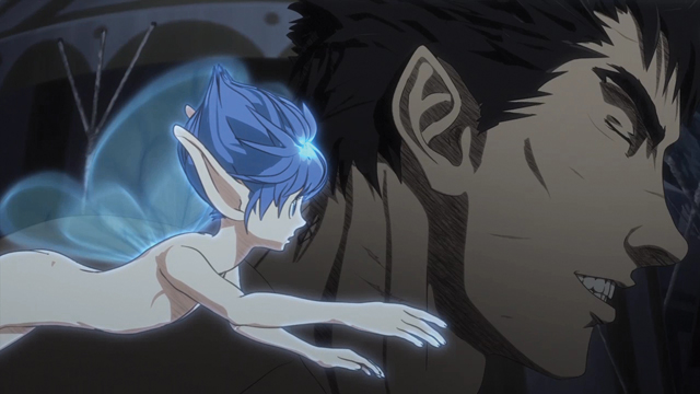 TVアニメ『ベルセルク』第2話より場面カット到着