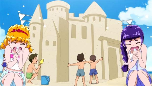 7月24日放送『魔法つかいプリキュア!』第25話より先行場面カット到着! みんなで海に行っちゃいました♪