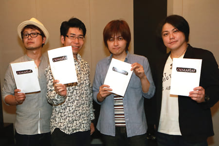 TVアニメ『OZMAFIA!!』男性声優4名ぐだぐだインタビュー