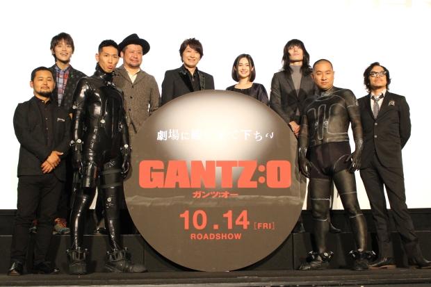 小野大輔さんら登壇 映画『GANTZ:O』完成披露上映会レポ
