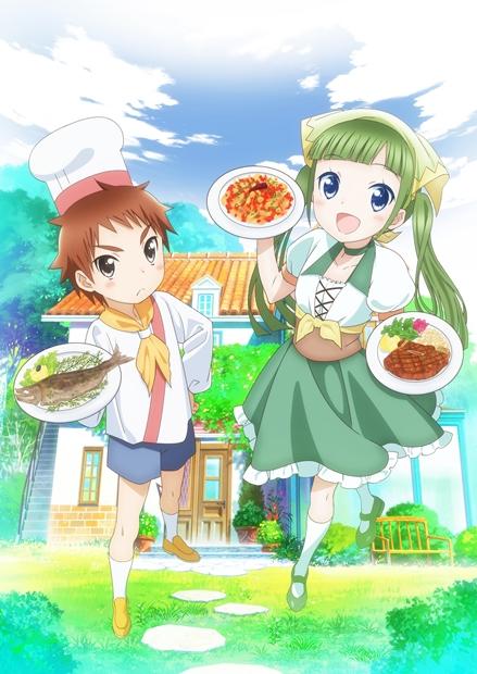 TVアニメ『ピアシェ~私のイタリアン~』主要声優&放送時期が判明