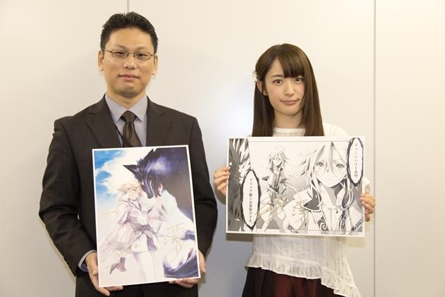 『人狼への転生、魔王の副官』原作者&小松未可子さんインタビュー