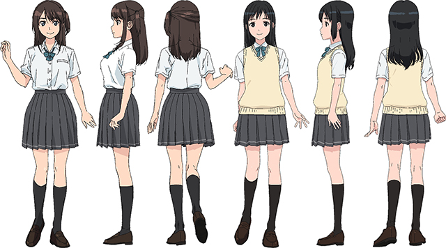 TVアニメ『セイレン』メインヒロイン2名のキャラ設定&声優解禁!