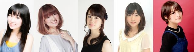 『ポッピンQ』5人のヒロインが歌うキャラクターソングの詳細が判明