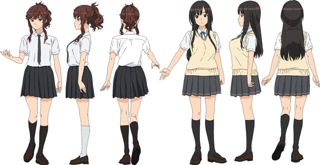 TVアニメ『セイレン』井澤さんと三上さん演じるヒロイン2人が公開