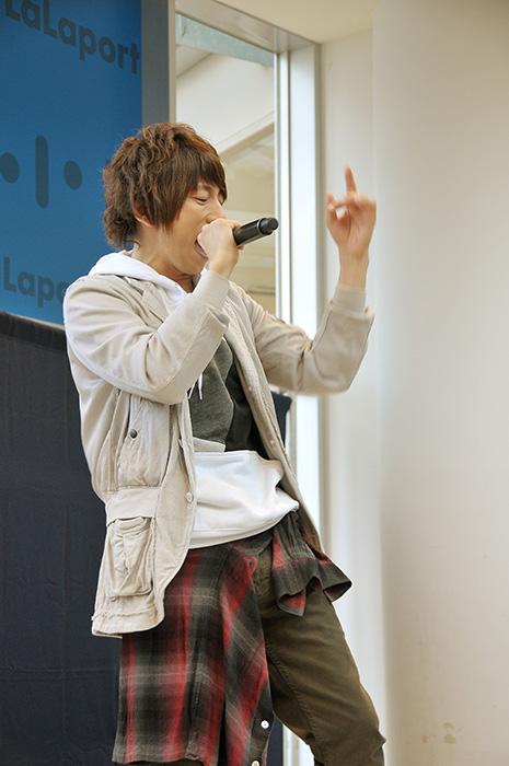 声優・羽多野渉さん歌う『ユーリ!!! on ICE』EDテーマ、ららぽーと柏の葉に響く――の画像-11