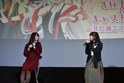 うらら迷路帖:原田彩楓さん、茅野愛衣さんのトークで会場中ほっこり