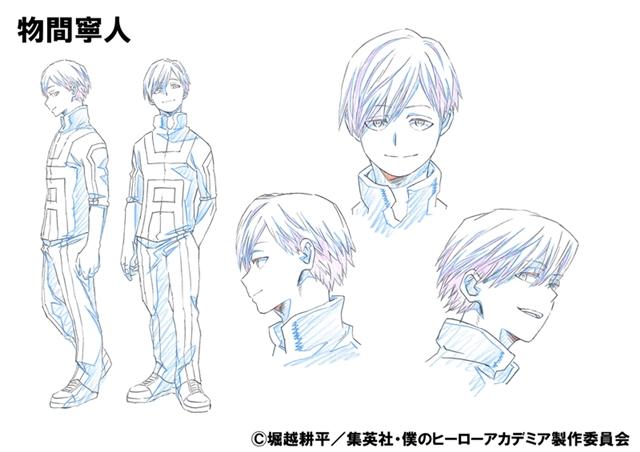 TVアニメ『僕のヒーローアカデミア』第2期より物間寧人&塩崎茨の担当声優・デザインが公開!