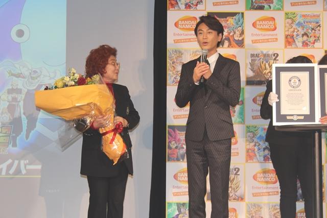 野沢雅子さんが『ドラゴンボール』ゲームでギネス世界記録認定!