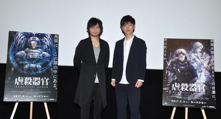 映画『虐殺器官』中村さん&櫻井さん登壇舞台挨拶レポート
