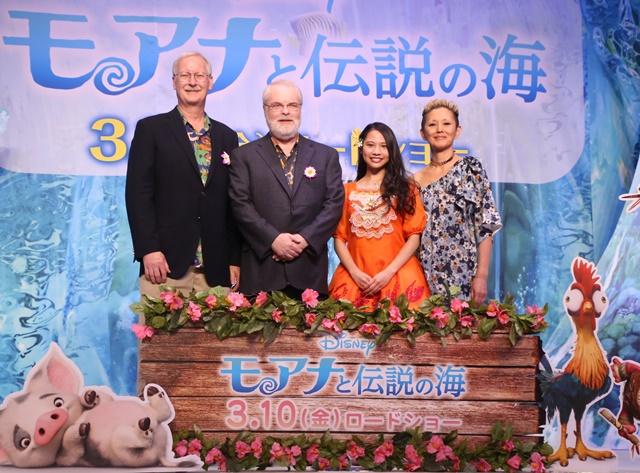 『モアナと伝説の海』監督に日本語版主題歌をサプライズ披露