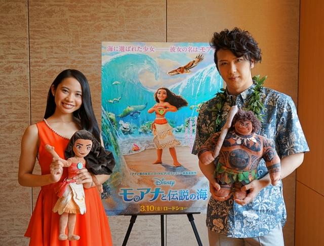 ディズニー・アニメ『モアナと伝説の海』 声優インタビュー