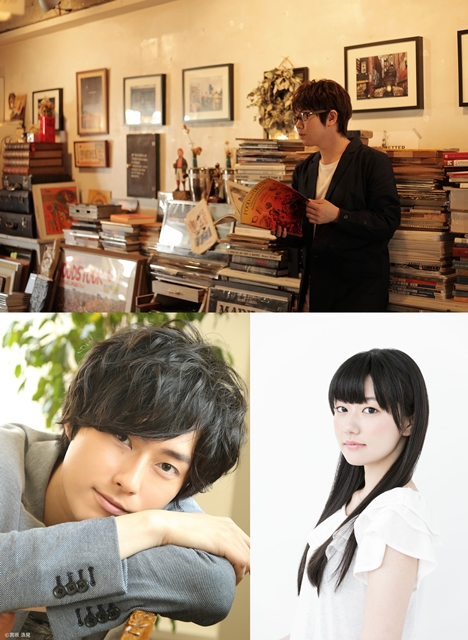 増田俊樹さんらが、「リリィ、さよなら。」のライブで朗読を担当