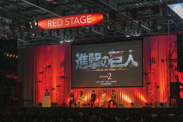 梶裕貴さんら『進撃の巨人』第2期に心臓を捧げる!【AJ2017】