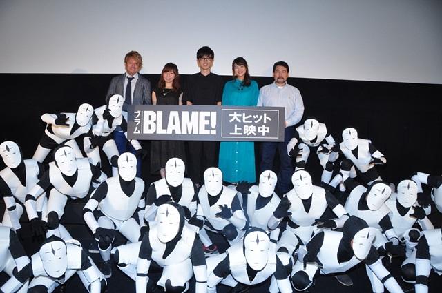 櫻井さん、早見さん、洲崎さん登壇!『BLAME!』舞台挨拶レポ