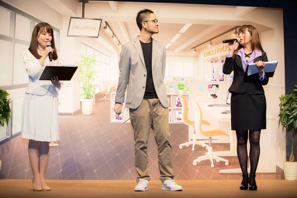 努力をすれば報われるということを伝えたいです――『プロジェクト東京ドールズ』発表会開催! 声優陣が作中の衣装を身に纏って登場!