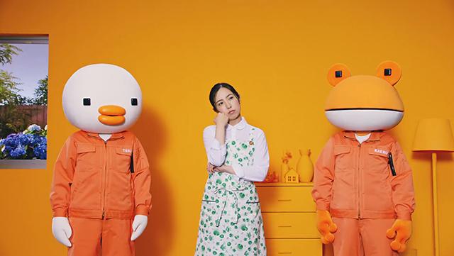 ジブリ声優柊瑠美さんがLIXILの人気キャラ・トリカエルと共演!