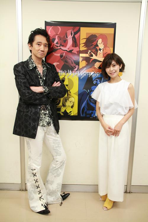 『ザ・リフレクション』三木眞一郎さん&伊瀬茉莉也さんインタビュー