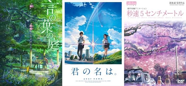 大ヒットアニメ映画『君の名は。』が早くも本日よりdTVで配信開始