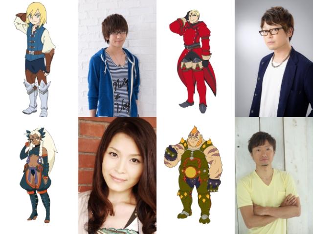 『モンハン』TVアニメ新章に登場するキャラクターと声優が公開!