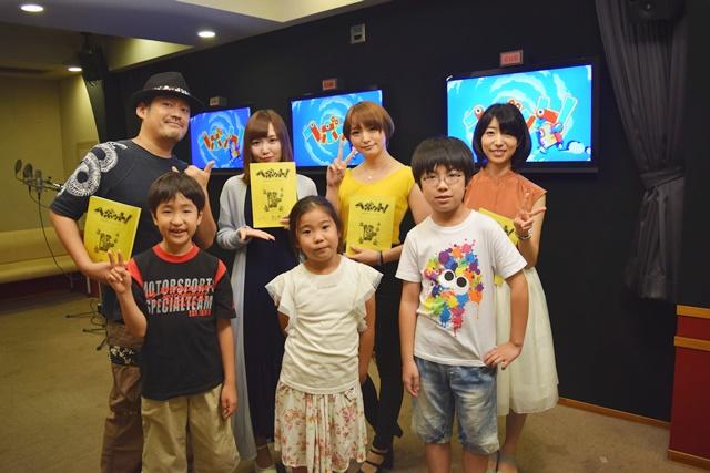 『ヘボット!』アフレコ収録体験の子供たちに井澤詩織さんら声優陣が優しくアドバイス