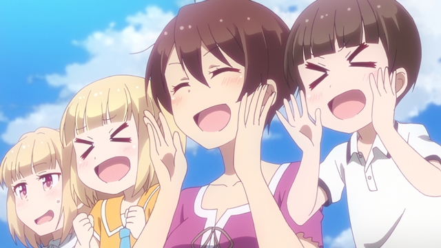 """『NEW GAME!!』第9話より、先行場面カット公開! はじめは、高校時代に""""ある""""ことを秘密にしていて……"""