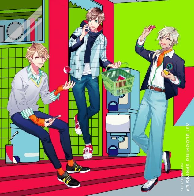 『A3!』春組・夏組ミニアルバムのジャケ写公開&秋組キャストによる生放送決定!